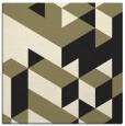 rug #996909 | square black popular rug