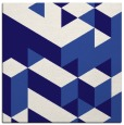 rug #996989 | square blue-violet rug
