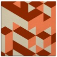 rug #997093 | square beige graphic rug