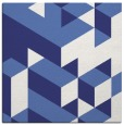 rug #997173 | square blue graphic rug