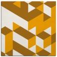 rug #997229 | square light-orange retro rug