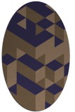 rug #997356 | oval graphic rug