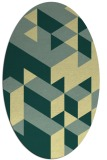 rug #997569 | oval graphic rug