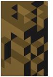 rug #997625 |  mid-brown retro rug