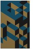 rug #997633 |  mid-brown retro rug