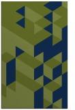 rug #997649 |  blue graphic rug