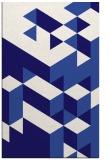 rug #997709 |  blue-violet rug