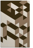 rug #997757 |  mid-brown graphic rug