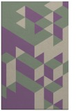 rug #997789 |  purple geometry rug
