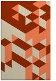 rug #997813 |  orange graphic rug