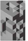 rug #997817 |  red-orange retro rug