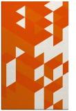 rug #997881 |  red-orange retro rug