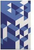 rug #997893 |  blue graphic rug