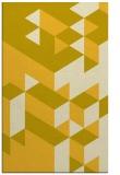 rug #997909 |  yellow geometry rug
