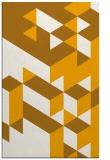 rug #997949 |  light-orange retro rug
