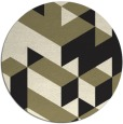 rug #997989 | round black popular rug