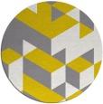 rug #998154 | round graphic rug