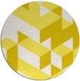 rug #998250 | round retro rug