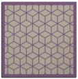 rug #998869 | square purple borders rug
