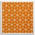 rug #998889   square orange rug