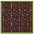 rug #998921 | square purple borders rug