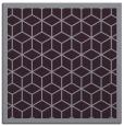 rug #998929 | square purple borders rug