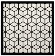 rug #998965   square black borders rug