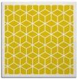rug #999001   square yellow borders rug