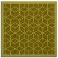rug #999013 | square light-green rug