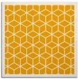 rug #999029   square light-orange geometry rug