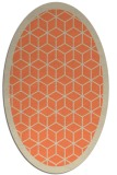 rug #999253 | oval borders rug