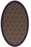 rug #999286 | oval borders rug