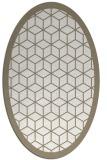 rug #999349 | oval beige borders rug