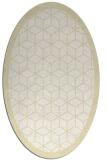 rug #999358 | oval borders rug