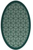 rug #999371 | oval borders rug