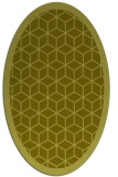 rug #999373 | oval light-green rug