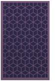 rug #999505 |  purple popular rug
