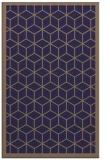 rug #999513 |  beige geometry rug