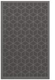 rug #999553 |  mid-brown borders rug