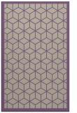 rug #999589    purple borders rug