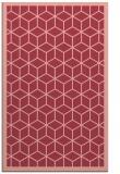 rug #999629 |  pink popular rug