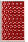 rug #999653    red borders rug