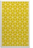 rug #999721 |  yellow borders rug