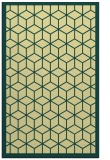 rug #999729 |  yellow geometry rug