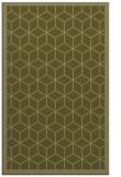 rug #999745 |  light-green borders rug