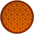 rug #999768 | round borders rug