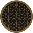 rug #999785 | round black popular rug