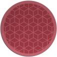 rug #999863   round borders rug
