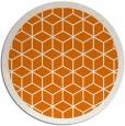 rug #999969 | round orange rug